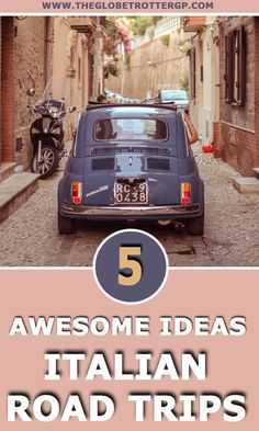 5 Spectacular Italy Road Trips You Need To Steal - The Globetrotter GP Italy Travel Tips, Top Travel Destinations, Sicily Travel, Cities In Italy, Places In Italy, Europe Holidays, Italy Holidays, Road Trip Hacks, Road Trips