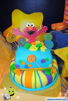 #Torta #Elmo #FiestasInfantiles #Niños #Decoraciones