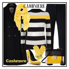Cashmere by amisha73 on Polyvore featuring moda, Jaeger, I'm Isola Marras, Etro, Shoes of Prey, Salvatore Ferragamo and Gizelle Renee