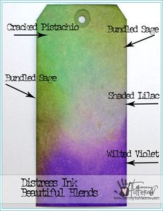 Beautiful Blends: Sweet Violets http://tammytutterow.com/2016/08/beautiful-blends-sweet-violets/