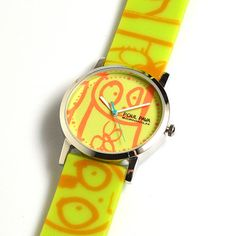 Poul Pava Watch Lime, 28€, now featured on Fab.