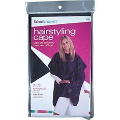 Diane Hairstyling Cape, Black, 36 Inch x54 Inch >>> Be sure to check out this awesome product.