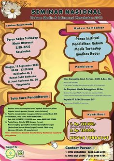 Seminar Nasional, Peran Koder terkait SJSN-BPJS, Yogyakarta, 15 September 2013