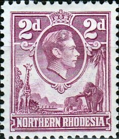 Northern Rhodesia 1938 Animals SG 33 Fine Used Scott 33 Other British Commonwealth Empire and Colonial Stamps Here