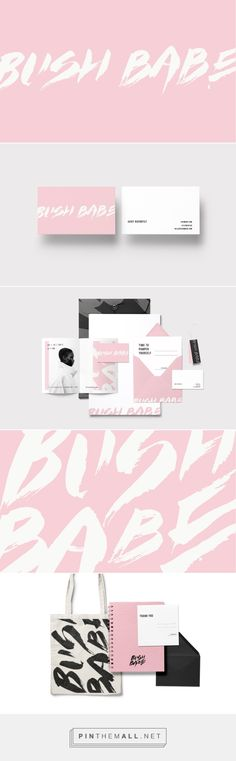 Bush Babe Nautral Hair and Skin Care Branding by Loolaa Designs | Fivestar Branding Agency – Design and Branding Agency & Curated Inspiration Gallery