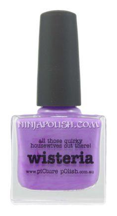 Ninja Polish: Picture Polish - Wisteria