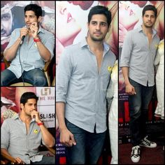 Sidharth Malhotra promotes in Zara and Louboutin