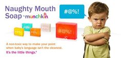New from Munchkin – The Non-Toxic Naughty Mouth Soap Bar for Toddlers