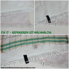 widerstandistzweckmaessig: Handtuchschlaufen ersetzen #fix-it [Upcycling-Anleitung]