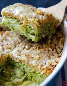 Skinny Zucchini Casserole | Delicious And Healthy Casserole Recipes | Homemade Recipes | https://homemaderecipes.com/14-healthy-casserole-recipes/