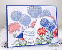 ChristineCreations: Garden Fireworks digital stamp set by Power Poppy, card design by Christine Okken.