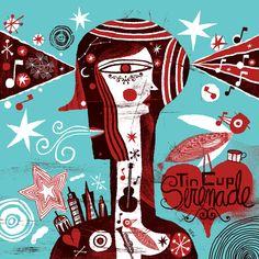 Nate Williams ilustrador con un amor por las letras a mano y la serigrafía. Valora la creatividad, la curiosidad, la inspiración, el juego, el descubrimiento y la imperfección.  http://www.n8w.com/gallery/tags/everything
