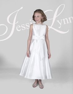cef5bc604b3 Darby Communion Dress by Jessica Lynn · Communion DressesFlower GirlsGirls  ...