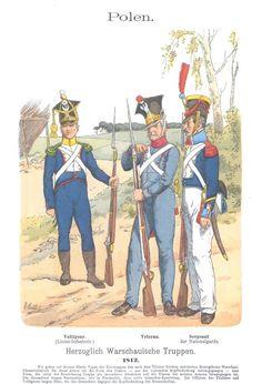 Band IV #9.- Polen. Herzoglich Warschauische Truppen. 1812.
