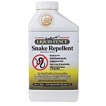 Liquid Fence Snake Repellent- Keep snakes away from areas where they arent wanted. Napthalene-free formula. Safe to use anywhere. Makes 2 gallons of spray, covers 4000 sq. ft.