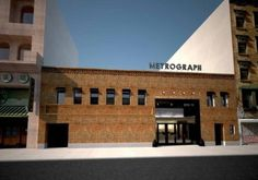 Artist rendering of the new Metrograph theater. Metrograph LLC