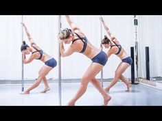 Pole Fitness Workout Inspiration VOL.4 / LEVEL 3 - YouTube