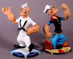 Popeye maquettes... I own these.