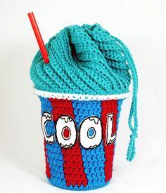 How-To: Crocheted Slushee Bag