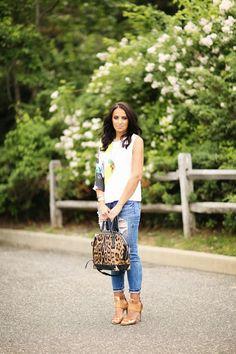 MACHINE JEANS | Blue Jeans, White Shirt