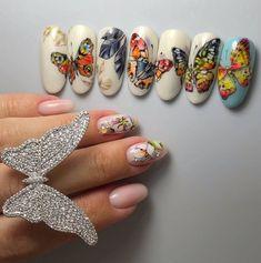 Butterfly Nail, Butterfly Shape, Toe Nail Art, Toe Nails, Animal Nail Art, Wedding Nails Design, Nail Tech, Summer Nails, Hair And Nails