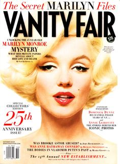 Vanity Fair, Marilyn as the Cover