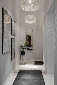 farmhouse home decor Home Living Room, Interior, Hallway Inspiration, Parisian Bedroom Decor, Hall Interior, House Interior, Apartment Decor, House Interior Decor, Interior Inspo