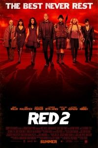 """Movie Review: The old farts from Red and back. They're still old. They are still shooting guns. It's the same movie. """"Red 2"""" http://criticstudio.com/movie-reviews/red-2/"""