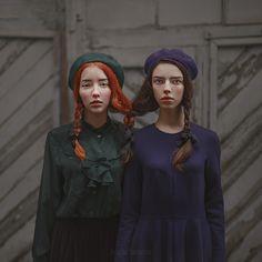 like sisters | by anka_zhuravleva