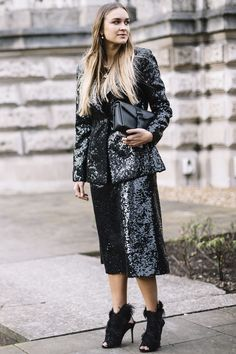 The Street Style Looks You'll Want To Steal From London Fashion Week AW18 - London Fashion Week Street Style from InStyle.com