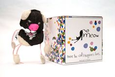 MEOW handmade Toy for Cats  Peggy от MeowForCatsShop на Etsy