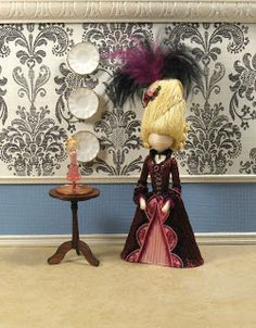 Angela Michelle Dolls-toothpick dolls