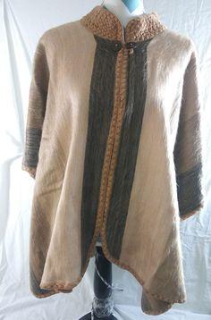aa393297efe Poncho Large Faux Fur Womens Cape Wrap Winter Cloak Woven Shawl  fashion   Poncho  cloak  womenfashion