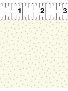 Heart & Home fat 1/4 - Cream Dots