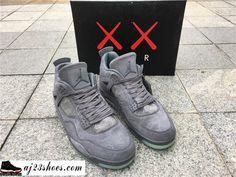 """ed7b3cfb1e9 ATHENTIC KAWS X Air Jordan 4 """"Cool Grey"""" from aj23shoes.com Kik/skype:  aj23shoes Wechat/snapchat: aj23shoes1 YouTube: aj23shoes ..."""