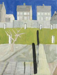 Thunderstruck (Roger Raveel (Belgian, 1921-2013), Tuintje met...)