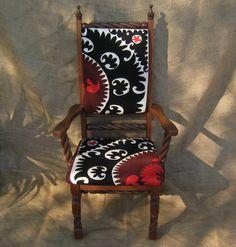 Pow Wow's Suzani chair