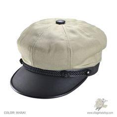 New York Hat & Cap Brando Canvas Cap
