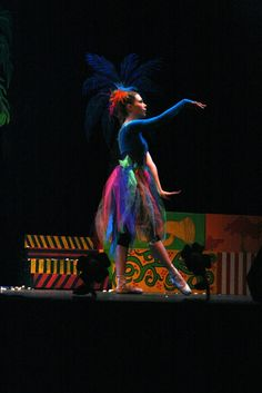 This is a Gertrude - Seussical.... but I like this for my Bird Girls.