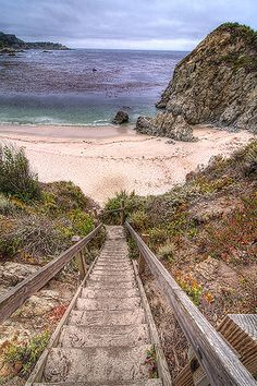 Gibson Beach, Point Lobos State Reserve, Monterey County, CA
