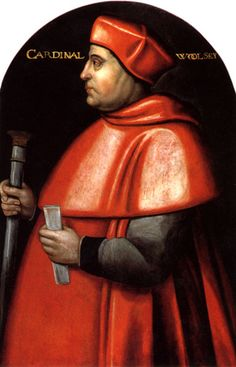 Thomas Cardinal Wolsey (or Woolsey) - St Peter's was once to be the chapel to Wolsey's great College in Ipswich to rival Cambridge & Oxford but upon falling out of favour with Henry VIII the college did not continue.