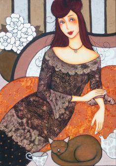 Corinne Reignier, paintings