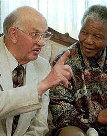 """On This Day"" : July 5, 1989 CE – South African President Pieter Botha Visited Nelson Mandela in Prison."