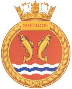 HMCS NIPIGON Badge - The Canadian Navy - ReadyAyeReady.com