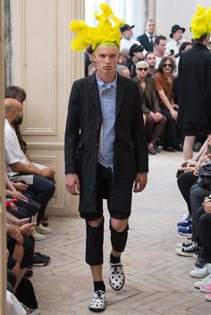 Comme des Garçons Homme Plus Spring 2016 Menswear - Collection - Gallery - Style.com