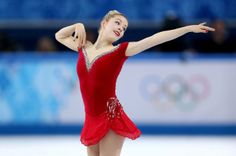 f737b9ba6c Gracie Gold of the United States competes in the Figure Skating Ladies   Short Program on day 12 of the Sochi 2014 Winter Olympics at Iceberg Skating  Palace ...