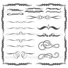 calligraphy flourishes - Google Search