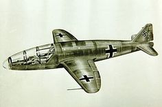 He 176V2 Rocket Plane, the unbuilt later version Heinkel he 176 san diego air and space museum.jpg