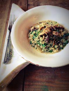 Clean Comfort Food: Quinoa Risotto (Gluten Free)