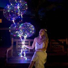 LED Balloon Reusable – Deals-o-saur Wedding Themes, Wedding Decorations, Wedding Centerpieces, Wedding Ideas, Deco Ballon, Deco Buffet, Bubble Balloons, Marriage Proposals, Marriage Advice
